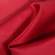 Red Matte Satin (Peau de Soie) Fabric