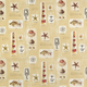 Waverly Beach Comber Sandcastle Fabric