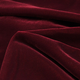 Fairvel Cardinal Red Micro Velvet Fabric