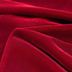 Fairvel Scarlet Red Micro Velvet Fabric