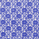 Royal Blue Raschel Lace Fabric