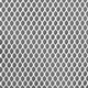 4mm Polyester Hex Mesh - White