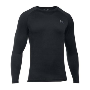 e657843c6 Under Armour Men's Base™ 3.0 Crew Neck Long Sleeve Shirt - Black S ...