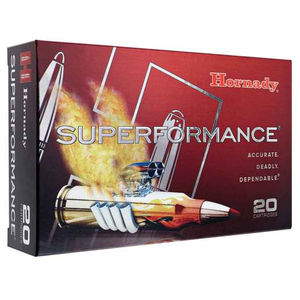 Hornady Superformance 7mm-08 Remington 139gr SST Rifle Ammo