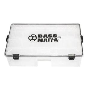 Bass Mafia Bait Casket Utility Box Clear 9 W X 14 L X 4 Deep