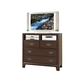 Acme Bellwood Ridge TV Console in Cappuccino 00167