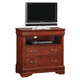 Acme Louis Philippe TV Console in Cherry Oak 00397