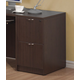 Acme Fair Oak 2-Drawer File Cabinet with Top in Espresso 04325