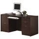 Acme Fair Oak Office Writing Desk in Espresso 04327