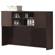 Acme Fair Oak Desk Hutch with 2 Cabinet Doors in Espresso 04329