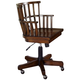 Hammary Mercantile Castered Desk Chair in Whiskey 050-948