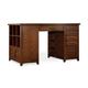 Hooker Furniture Wendover Utility Desk Complete (1 Drawer & 1 Bookcase Ped) 1037-11306 SALE Ends Sep 13