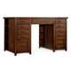 Hooker Furniture Wendover Utility Desk Complete (2 Drawer Peds) 1037-11307 SALE Ends May 13