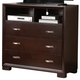 Homelegance Astrid TV Chest in Espresso 1313-11
