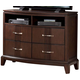 Homelegance Daytona TV Chest in Dark Espresso 1419-11