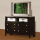 Acme Oxford TV Console in Espresso 14307