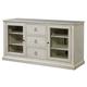 Universal Furniture Summer Hill Entertainment Console in Cotton 987968 CODE:UNIV20 for 20% Off