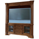 Universal Furniture Villa Cortina Plasma TV Console w/ Back Panel/Deck in Villa Cortina