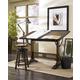 Hammary Studio Home Architect Desk in Medium Oak 166-940