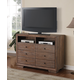 Acme Equinox TV Console in Distressed Ash 20197