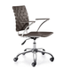 Zuo Modern Criss Cross Office Espresso 205032