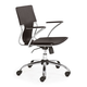 Zuo Modern Trafico Office Chair Espresso 205183