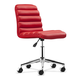 Zuo Modern Admire Office Chair Red 205712