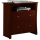 Homelegance Avelar TV Chest in Cherry 2100-11