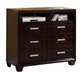 Homelegance Lewiston TV Chest in Dark Cherry 2137-11