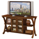 Standard Furniture Madrid TV Console in Cherry 22846