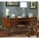 Samuel Lawrence Furniture Madison Leg Desk in Traditional Cherry 4455-912