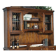 Samuel Lawrence Furniture Madison Computer Desk Hutch in Traditional Cherry 4455-916