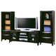 Coaster Entertainment Wall Unit in Cappuccino 700290S