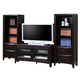 Coaster Entertainment Wall Unit in Cappuccino 700291S