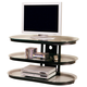 Coaster TV Stand in Black 700611