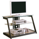 Coaster TV Stand in Black 700613