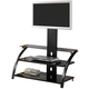 Coaster TV Stand in Black 700617