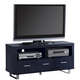 Coaster TV Console in Black 700644