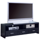 Coaster TV Console in Black 700645