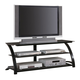 Coaster TV Stand in Black 700664