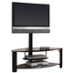 Coaster TV Stand in Black 700667
