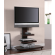 Coaster TV Stand in Black 700668