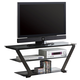 Coaster TV Stand in Black 701370