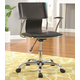 Coaster Contemporary Adjustable Height Office Chair in Black 800207