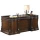 Coaster Tucker Double Pedestal Desk in Rich Brown 800800
