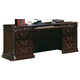Coaster Tucker Double Pedestal Computer Desk in Rich Brown 800801B