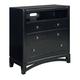 Standard Furniture Memphis TV Chest in Black Paint 83096