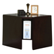 Acme Cape Corner Desk in Espresso 92033