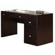 Acme Cape Computer Desk in Espresso 92034