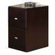 Acme Cape File Cabinet in Espresso 92035